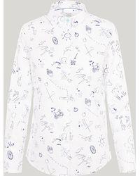 Paul Smith - Sketchbook Cotton Shirt - Lyst