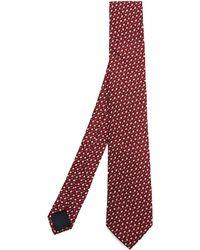 Lanvin - Textured Lines Tie - Lyst