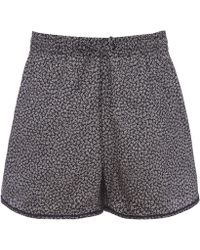 Liberty - Lewin Tana Lawn Cotton Shorts - Lyst