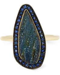 Andrea Fohrman | Gold Rainbow Hematite One-of-a-kind Ring | Lyst