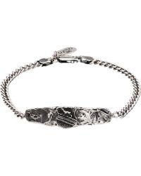 Pyrrha - Heart Of The Wolf Chain Bracelet - Lyst