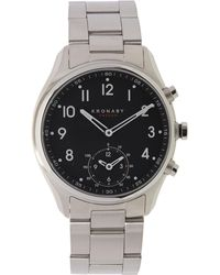 Kronaby - Apex Stainless Steel Metal Strap Smart Watch - Lyst