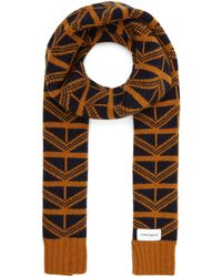 Oliver Spencer Arbury Pattern Scarf - Multicolour