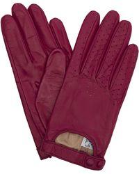 Portolano - Nappa Leather Driving Gloves - Lyst