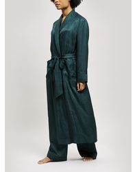 Liberty - Hera Silk Jacquard Long Robe - Lyst