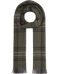 Nick Bronson - Large Check Pattern Scarf - Lyst