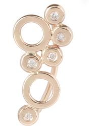Melissa Joy Manning - Gold Mixed Circle Diamond Ear Climber - Lyst