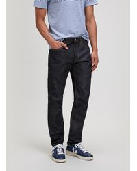 Edwin - Classic Regular Tapered Rainbow Selvage Unwashed Jeans - Lyst