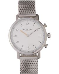 Kronaby - Nord Stainless Steel Mesh Strap Smart Watch - Lyst
