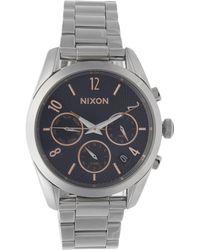 Nixon | Silver-tone Bullet Chrono Watch | Lyst