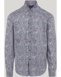 Liberty - Oscar Tana Lawn Cotton Long-sleeved Lasenby Shirt - Lyst