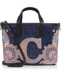 Liberty - Mini Marlborough Tote Bag In C Print - Lyst