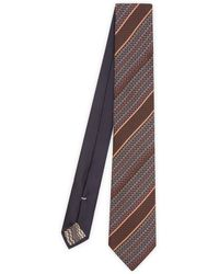Missoni - Stripe Logo Tie - Lyst