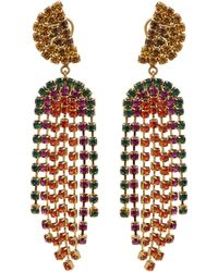 Lulu Frost - Synth Crystal Statement Earrings - Lyst