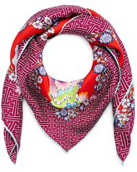 Liberty - Christelle 90x90 Silk Twill Scarf - Lyst