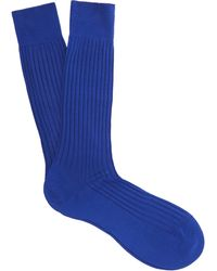 Pantherella - Danvers Ribbed Socks - Lyst