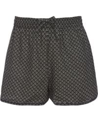 Liberty - Juno Brushed Cotton Shorts - Lyst