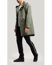 Saturdays NYC - Templeton Hooded Cotton Coat - Lyst