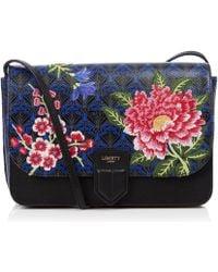 Liberty - Elysian Paradise Embroidered Portland Cross-body Bag - Lyst