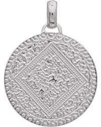 Monica Vinader - Silver Marie Mini Pendant Charm - Lyst