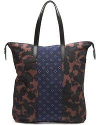 Dries Van Noten - Tropical Graphic Mix Print Zip Tote Bag - Lyst