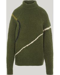 Paloma Wool Libra Intarsia Knit Sweater