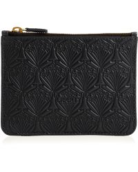 Liberty | Coin Pouch In Embossed Leather | Lyst