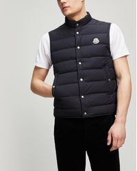76bd31feb Lyst - Men s Moncler Waistcoats and gilets On Sale