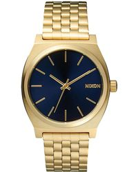 Nixon - Men's Time Teller Stainless Steel Bracelet Watch 37mm A045-511-00 - Lyst