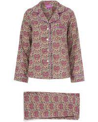 Liberty | Kitty Grace Cotton Long Pyjama Set | Lyst