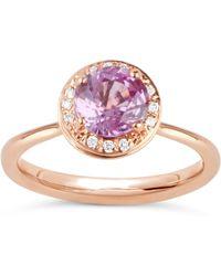 Dinny Hall - Rose Gold Sheba Ring - Lyst