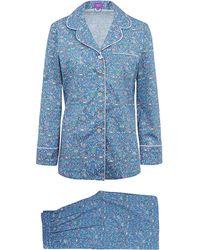 Liberty | Lmran Long Cotton Pyjama Set | Lyst