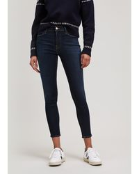 FRAME - Le High Skinny Jeans - Lyst