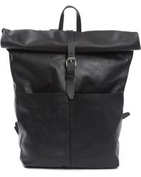 Sandqvist - Antonia Leather Rolltop Backpack - Lyst