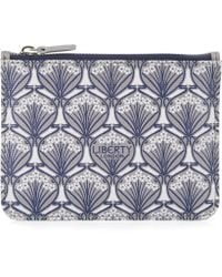 Liberty - Coin Pouch In Iphis Canvas - Lyst