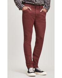 PAIGE - Lennox Rustic Wine Jeans - Lyst