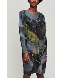 Crea Concept - Scoop Neck Jersey Dress - Lyst