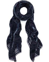 Liberty - Ianthe 70x180 Silk Devore Scarf - Lyst