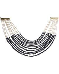 Rosantica - Raissa Blue Tiger-eye Bead Necklace - Lyst
