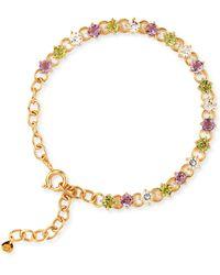 Dinny Hall - Suffragette Gold Vermeil Gem Drop Bracelet - Lyst