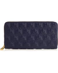 Liberty - Large Iphis Leather Zip Around Wallet - Lyst