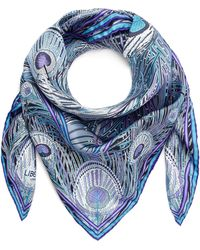 Liberty - Hera 90 X 90 Silk Twill Scarf - Lyst