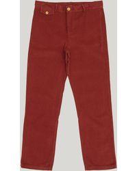 Paloma Wool - Laguna Straight-leg Corduroy Trousers - Lyst