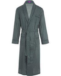 Liberty - Hawthorne Long Tana Lawn Cotton Robe - Lyst