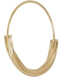 Maria Black - Gold-plated Tove Medium Hoop Earring - Lyst