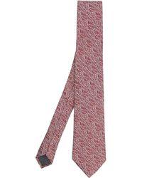 Simon Carter - West End Autumn Leaves Silk Tie - Lyst