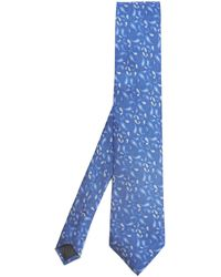 Simon Carter - West End Silhouette Paisley Silk Tie - Lyst
