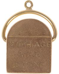 Annina Vogel - Gold Marriage Milestone Charm - Lyst
