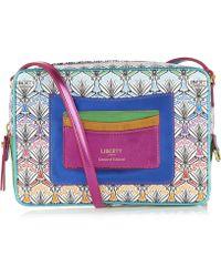Liberty - Maddox Cross Body Bag In Rainbow Canvas - Lyst