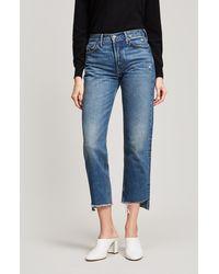 GRLFRND - Helena Crop Jeans - Lyst